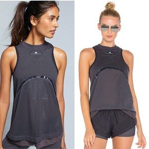 Adidas Stella Mccartney Yoga Mesh Tank